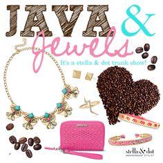 Java & Jewels fall 2015 Stella & Dot trunk show party