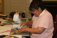 New cutting skills put to use in Debbie Caffrey's class