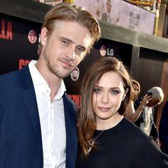 Elizabeth Olsen and Boyd Holbrook - Celebrity Engagements - InStyle.com