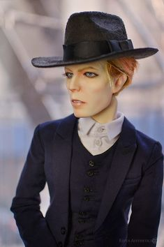 Hand Painted David Bowie Dolls Are Incredible