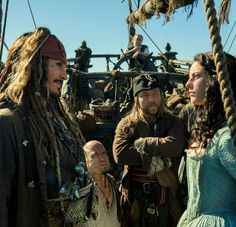 Captain Jack Sparrow / Carina Smyth