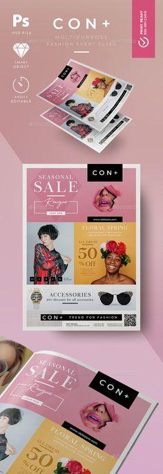 #Fashion #Flyer - Flyers #Print Templates