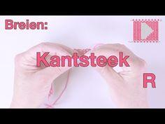 8.  Kantsteek breien - Online breicursus van Wolplein nl - YouTube