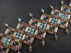 Bracelet Jaipur Swarovski Components by SabinesFinest on Etsy, €69.00
