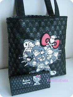 Tokidoki Hello Kitty tote bag & wallet   eBay I GOT MY EYE ON YOU