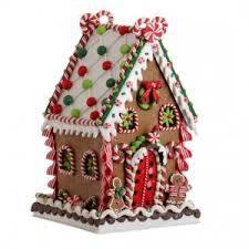 14 Inch Classic Christmas Gingerbread House with Candy Details - Tabletop Holiday Decoration Christmas Gingerbread House, Noel Christmas, Christmas Crafts, Christmas Cookies, Christmas Decorations, Christmas Ornaments, Gingerbread Houses, Xmas, Gingerbread Ornaments