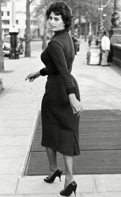 Sophia Loren: the epitome of femininity? Photo: Rex