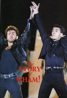 https://flic.kr/p/uCoyb | George Michael Wham! Final Concert. Wembley, London. June 1986