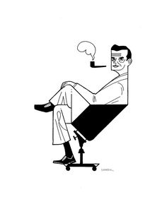 CHARLES EAMES by Dustin Harbin