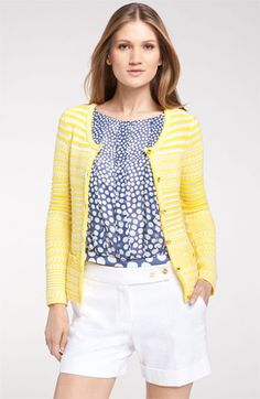 Trina Turk 'Ashbride' Cotton Cardigan available at #Nordstrom