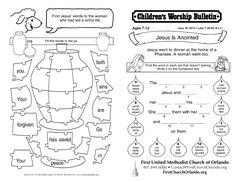 Luke 7:36-50; 8:1-3 June 16, 2013 page 1