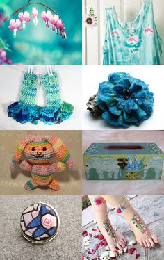 """""""Oh, How I Love Spring"""" by PNLJewelryDesigns  --Pinned with TreasuryPin.com"""