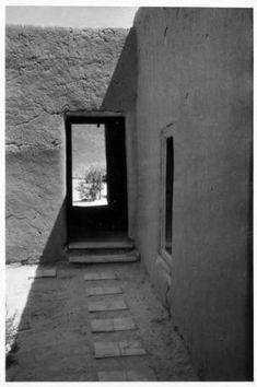 Georgia O'Keeffe's Abiquiu House, Patio :: Photography