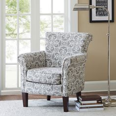 Shop Joss U0026 Main For Your Justine Arm Chair. Liven Up Your Living Room  Seating Group Or Create An Inviting Reading Nook With This Distinctive Arm  Chair, ...