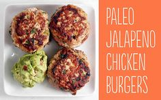 Paleo Jalapeno Chicken Burgers | 25 Tasty Hamburger Alternatives That Are Actually Good For You