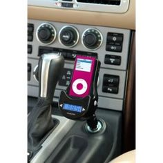 IPod car accessories are now increasingly popular