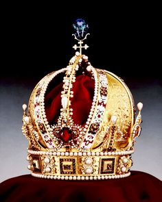 The Imperial Crown of Austria (German: Österreichische Kaiserkrone) is the crown worn by Holy Roman Emperors from the House of Habsburg from the 16th century to 1806
