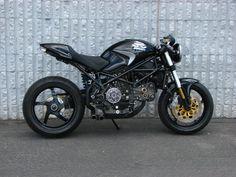 One bad Ducati Monster Custom