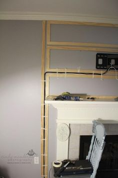 Chic and Modern TV wall mount ideas. - Since many people including your family enjoy watching TV, you need to consider the best place to install it. Here are 15 best TV wall mount ideas for any place including your living room. Hide Tv Cords, Hiding Tv Cords On Wall, Hiding Wires Mounted Tv, Hide Wires On Wall, Hidden Tv Wires, Hide Tv Cables, Tv Over Fireplace, Fireplace Ideas, Tv Mounted Above Fireplace