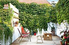 feeling the need for a little garden / deck / roof terrace. inspiration tx to marie claire maison