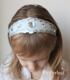 Frozen Elsa Princess Headband by PicPerfect on Etsy, $9.95