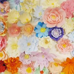Paper Flower Wall, Paper Flower Backdrop, Paper Flowers, Colored Paper, Origami Paper, Paper Decorations, Special Occasion, Backdrops, Wedding