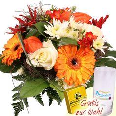 Blumen im Herbst - September-Morgen günstig und schnell verschicken mit dem Blumenfee Blumenversand