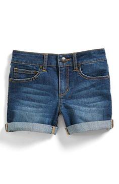 Joe's Classic Cuff Denim Shorts (Big Girls) available at #Nordstrom
