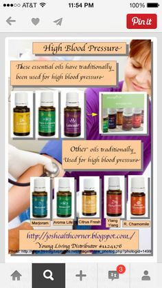 Young Living Essential Oils for High Blood Pressure ~ Gary Young suggests the… Yl Essential Oils, Young Living Essential Oils, Essential Oil Blends, Yl Oils, Essential Oil Blood Pressure, Lower Blood Pressure, Young Living Oils, Natural Healing, Fitness
