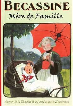 Tintin et Bécassine.