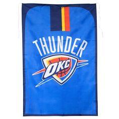 Oklahoma City Thunder NBA Team Fan Flag