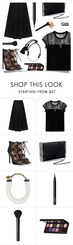 """""""Yoins 19/30"""" by millilolly ❤ liked on Polyvore featuring Lanvin, NARS Cosmetics, yoins, yoinscollection and loveyoins"""