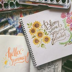 Watercolor Art by Abbey Sy, via Behance