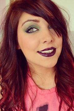 couleur cheveux grenade - Coloration Rose Permanente