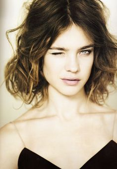 Natalia. I currently have this cut & colour but how to do this freakin awesome beachy-wave pinned back gorgeousness is beyond me