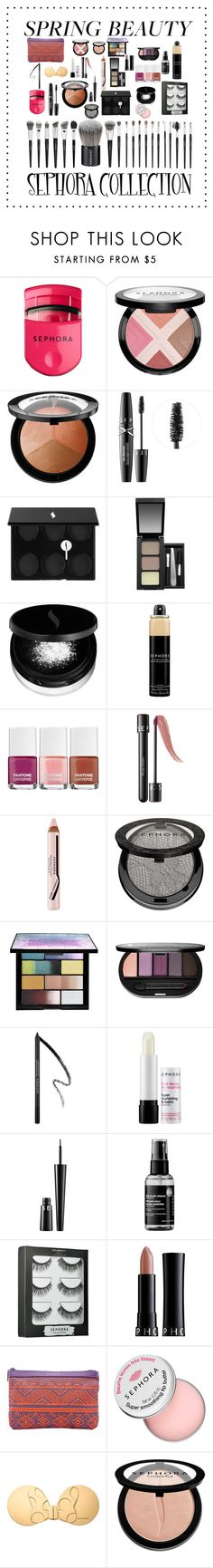 """Spring Beauty: Highlighter"" by larii-marii1d on Polyvore featuring Sephora Collection"