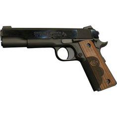 Colt 1911 Wiley Clapp Government Talo Edition Semi Auto .45 ACP Handgun 5 Barrel 7 Rounds Fixed Sights Laminate Wood Grips Black Finish 01911WC