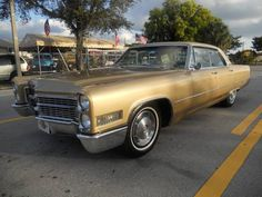 Cadillac Deville, Gold, for sale in FT LAUDERDALE, Florida, for $12,900. http://www.classiccar.com/cadillac/deville/cadillac-deville_18239/?pageCount=38&page=4&limit=34&back=cadillac%2F