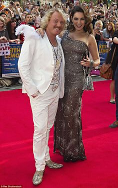 The truth: Keith Lemon has hinted that he doesn't believe that all of Kelly Brook's relati...