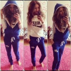 Ombre Women Sport Tracksuit Set Chills And Pains Clothing, Shoes & Accessories Tracksuits & Sets