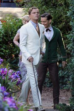 Leonardo DiCaprio — Gatsby look 1920s