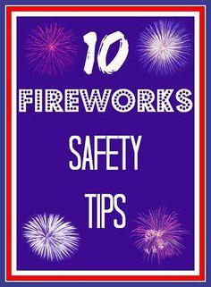 10 Fireworks Safety