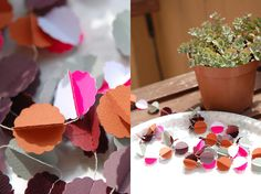 paper garland by maize