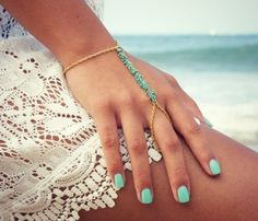 Vibrant Hand Chains