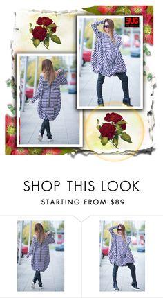"""Maxi Zipper Plus Size Dress, by EUG fashion"" by umay-cdxc ❤ liked on Polyvore featuring EUGfashion"