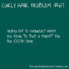 naturally curly hair meme - Google Search