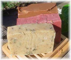 recipes for shampoo bars, lotion bars and more.  wildflower-shampoo-bars