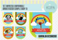 kit imprimible de BABY TV contactarnos a: holakupa@gmail.com