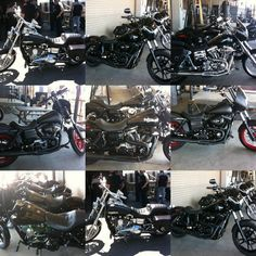 Bikes from 'Sons of Anarchy' // Not enough chrome for my taste, but these are some badass bikes!
