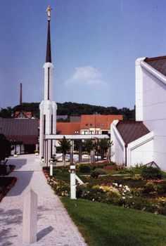 Frankfurt Germany LDS Temple in Friedrichsdorf